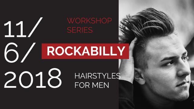 Template di design Young Man with Stylish Hairstyle Youtube