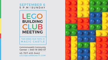 Lego Building Club meeting Constructor Bricks