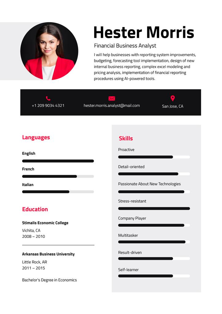 Business Analyst professional skills and experience — Maak een ontwerp