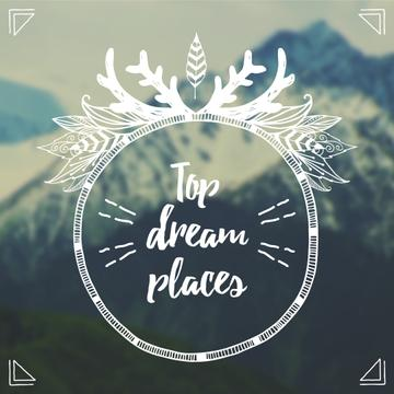 Top dream places poster