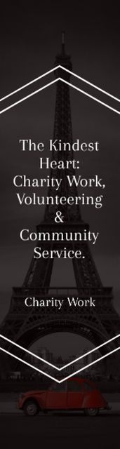 Szablon projektu The Kindest Heart: Charity Work Skyscraper