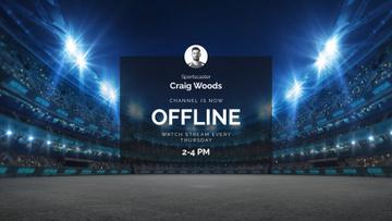 Sport Game Match announcement on Stadium