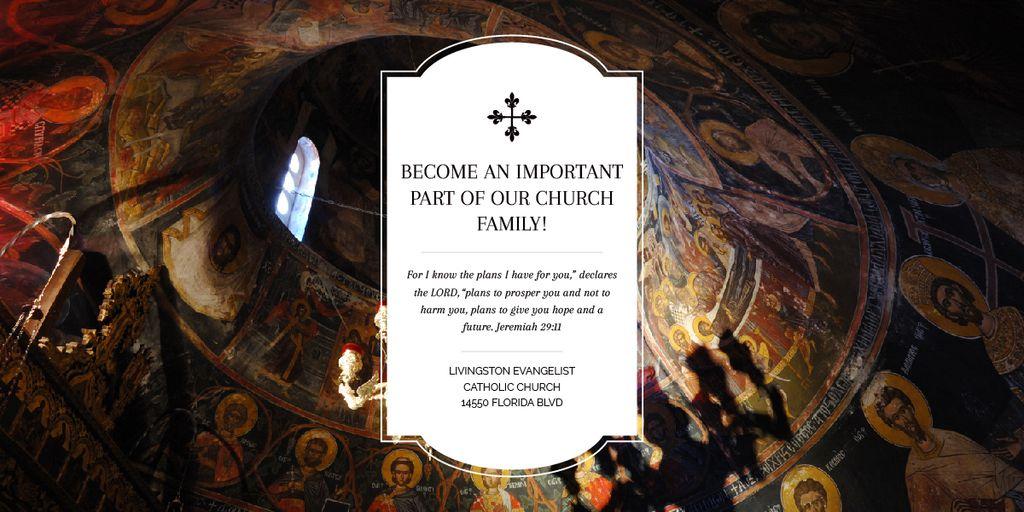 Livingston Evangelist Catholic Church — Crear un diseño
