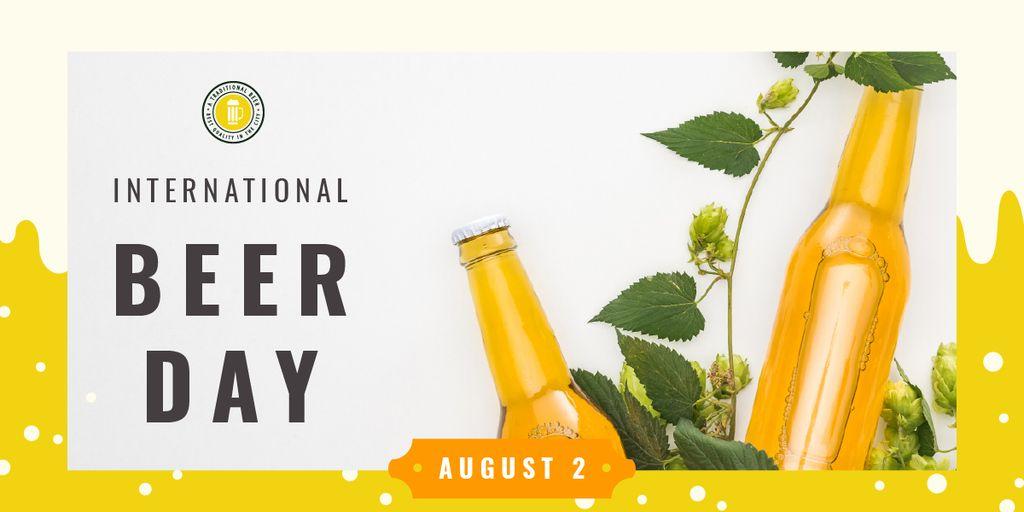 Beer Day Special Bottles Craft Beer — Modelo de projeto