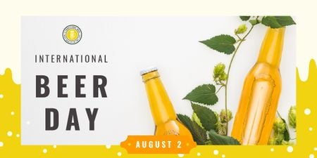 Template di design Beer Day Special Bottles Craft Beer Image