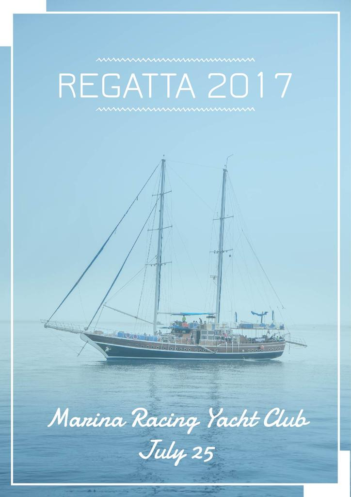Regatta event announcement — Створити дизайн
