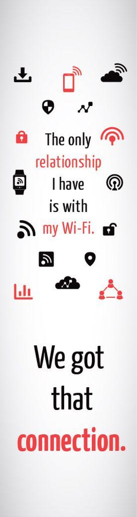 Wi-fi connection poster — Maak een ontwerp