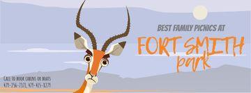 Wild Antelope in Nature