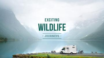Wildlife journeys Ad with Scenic Landscape