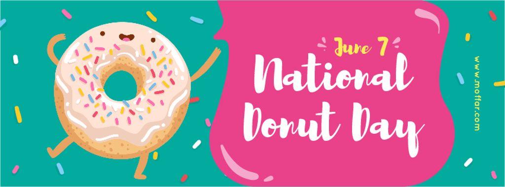 Sweet glazed donut Day — Create a Design