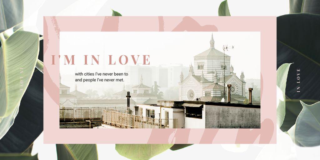 City buildings facades — Créer un visuel