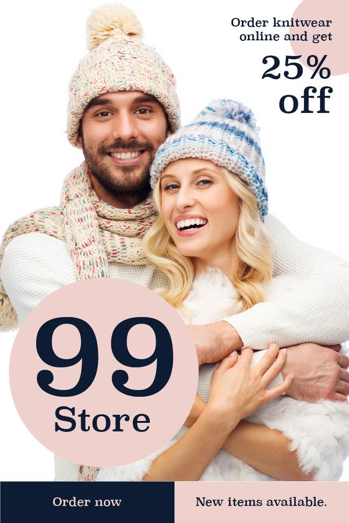 Online knitwear store — Crear un diseño