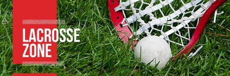 Lacrosse zone Ad Email headerデザインテンプレート