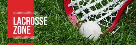 Modèle de visuel Lacrosse zone Ad - Email header