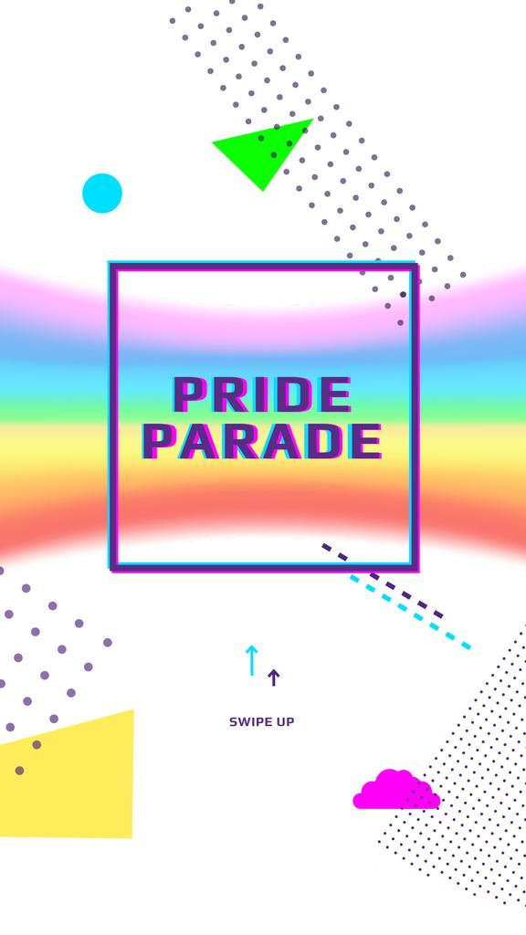 LGBT pride parade announcement — Crea un design
