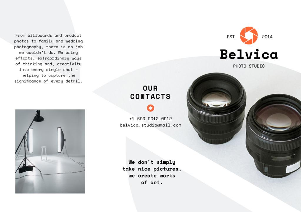Photo Studio rental services — Crear un diseño
