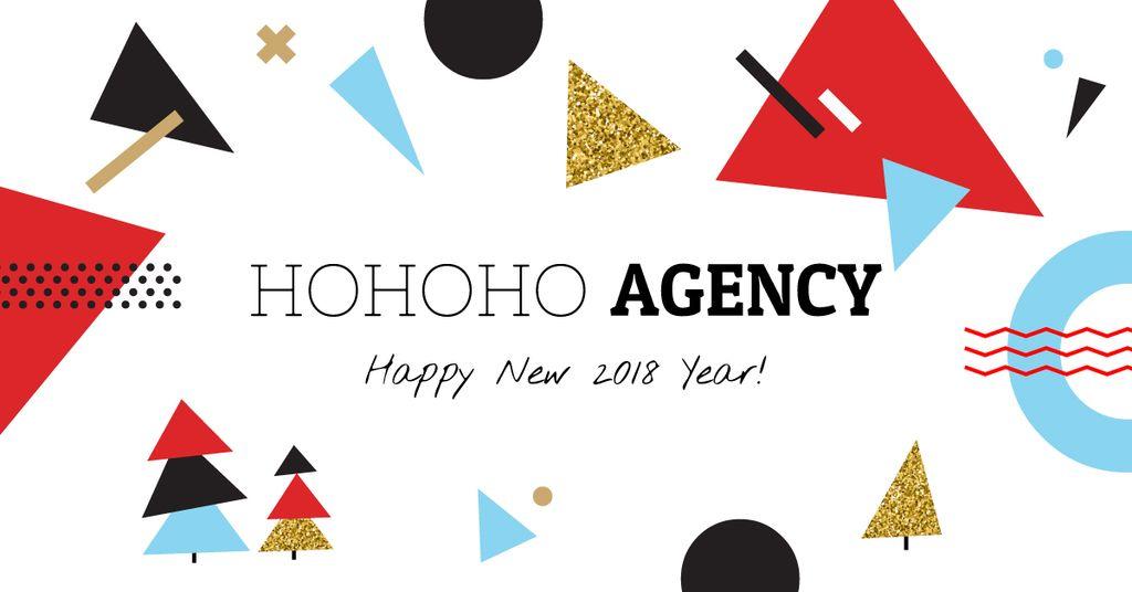 HOHOHO agency poster — Modelo de projeto