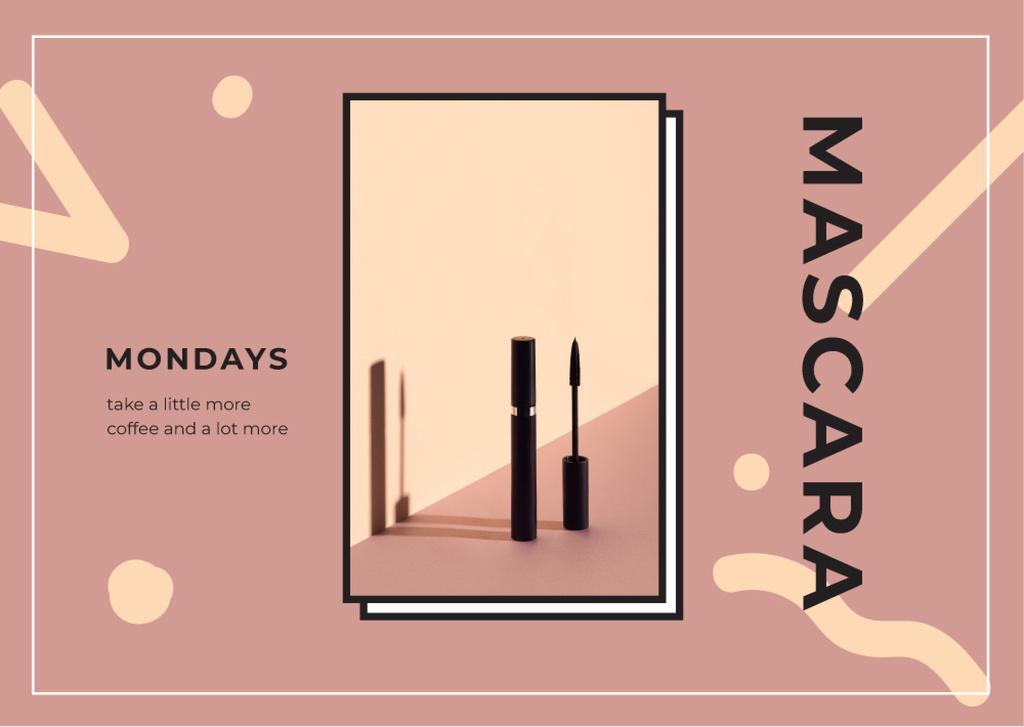 Black mascara tube — Create a Design