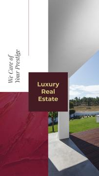 Luxury Homes Offer with modern building