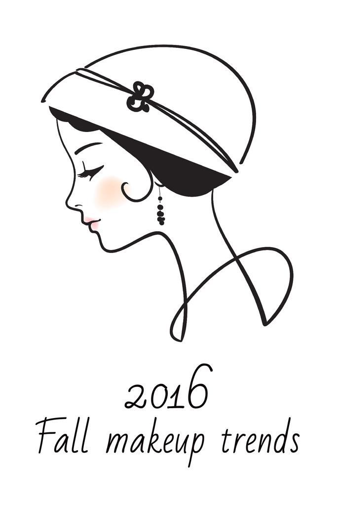 Fall makeup trends poster — Create a Design