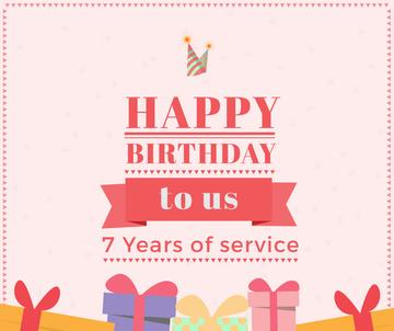 birthday card for service company