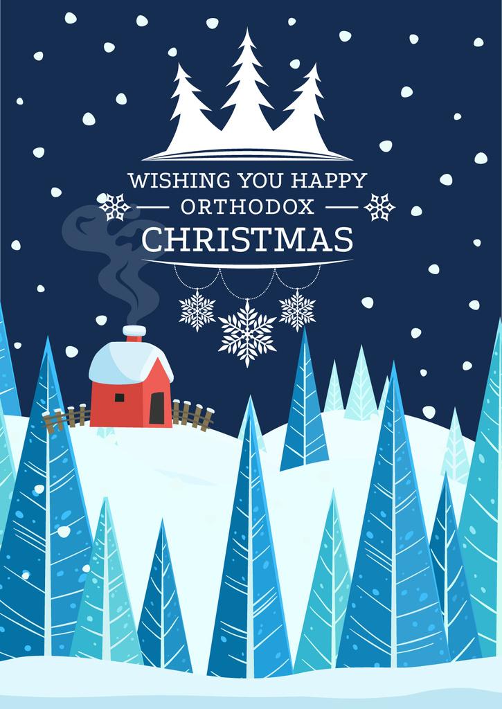 Happy Christmas card — ein Design erstellen