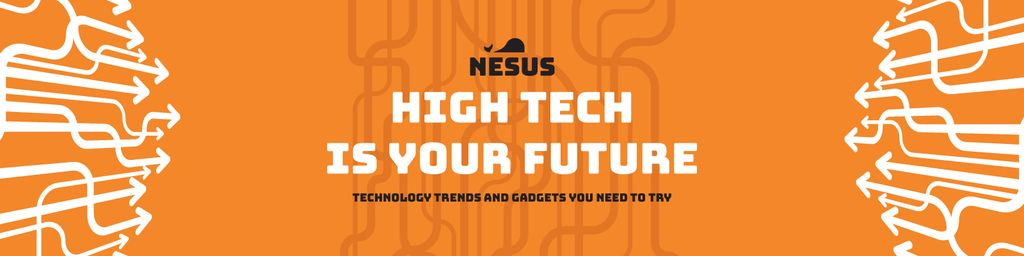 Technology trends banner — Створити дизайн
