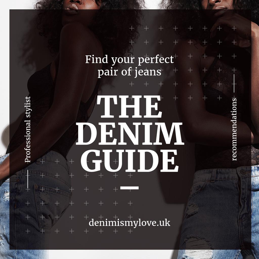 Denim guide with Stylish Girls — Créer un visuel
