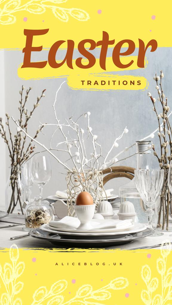 Easter festive dinner — Create a Design