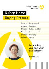 Real Estate Agent Smiling Confident Woman