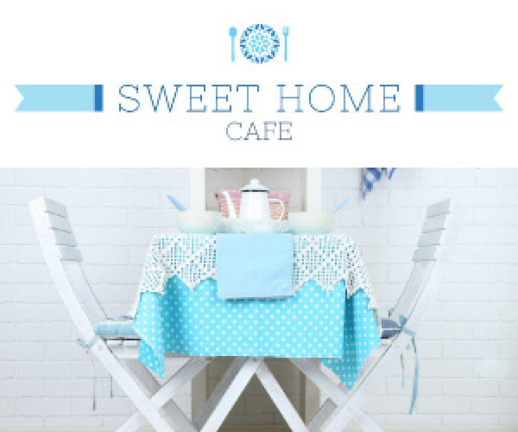 Sweet home cafe poster — Maak een ontwerp