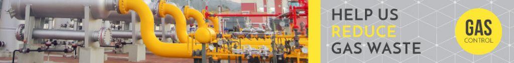 Gas control banner — Создать дизайн