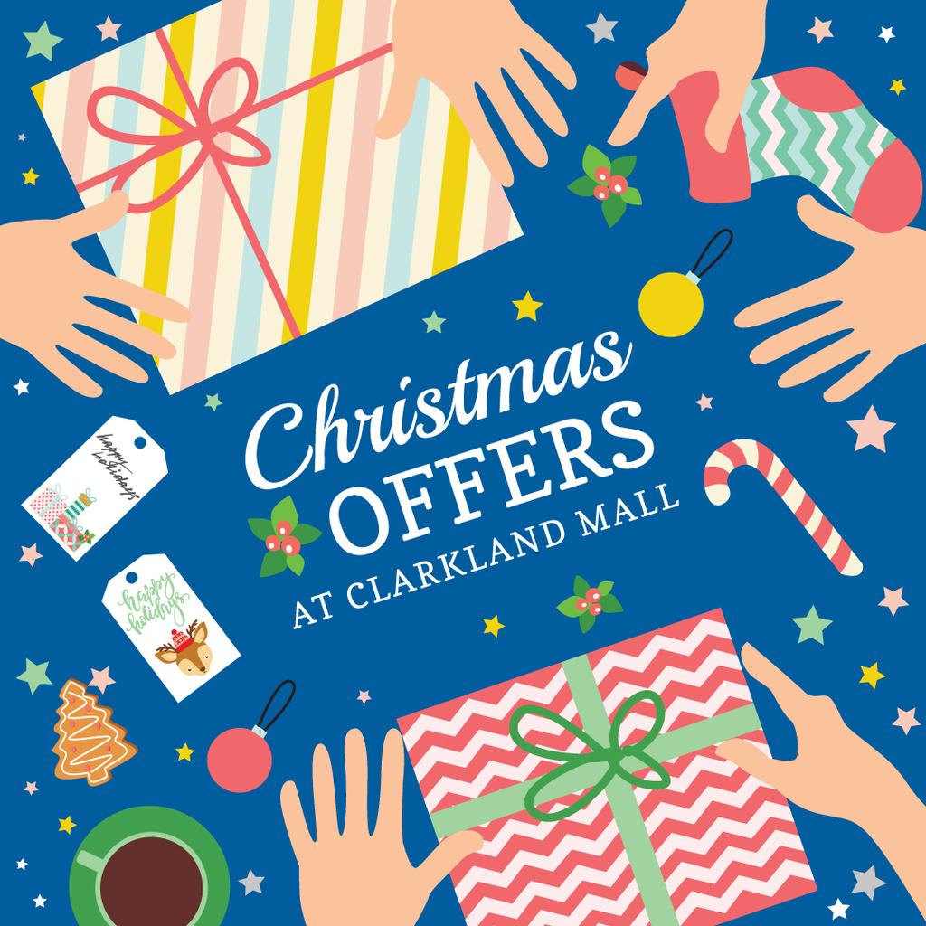 Christmas sale card — Create a Design