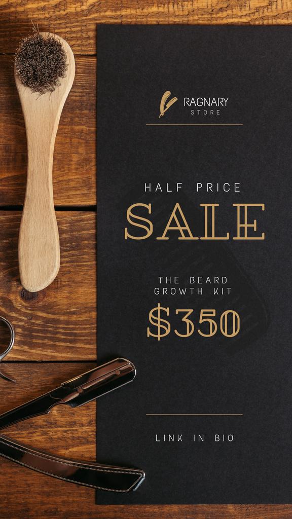 Barbershop Professional Tools Sale — Modelo de projeto