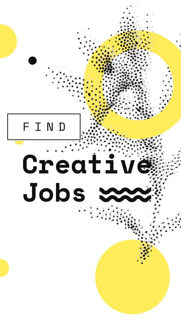 Creative Jobs offer on graphic pattern — Crear un diseño