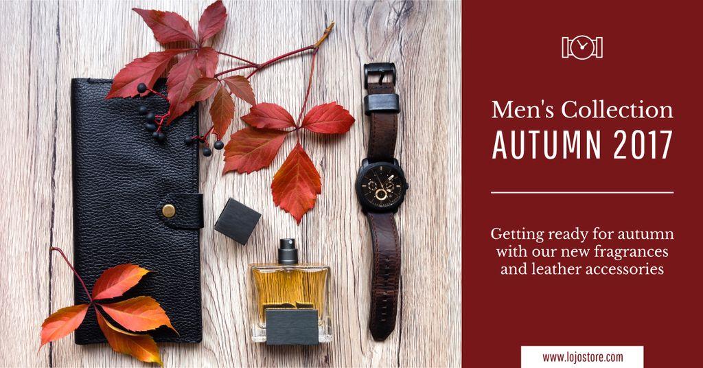 autumnal men's collection poster — Создать дизайн