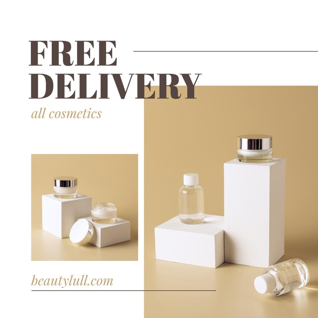 Cosmetics Kit Delivery Offer —デザインを作成する