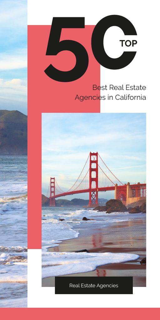 San Francisco Scenic Bridge View — Modelo de projeto