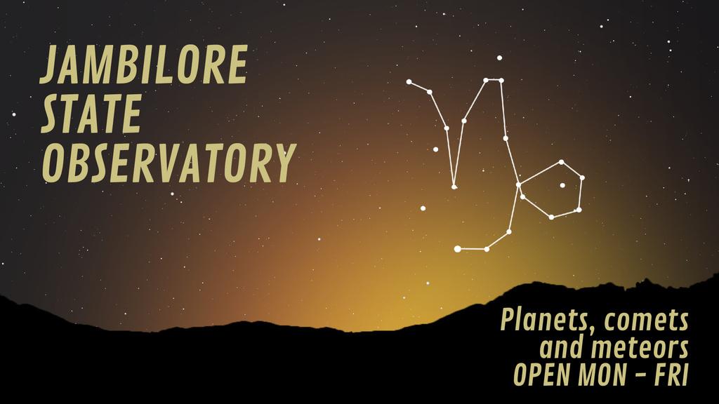 Night sky with Capricorn constellation — Maak een ontwerp