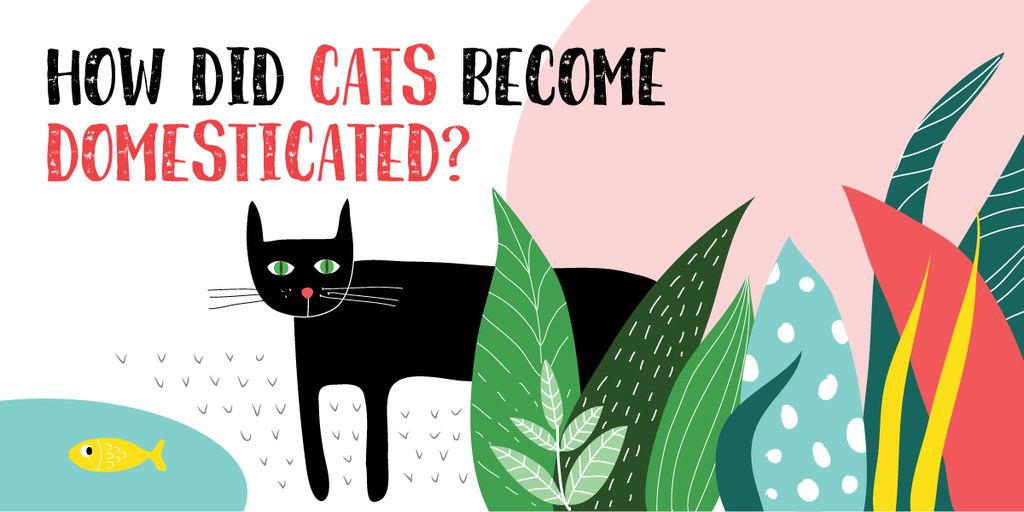 How did cats become domesticated? — Crea un design