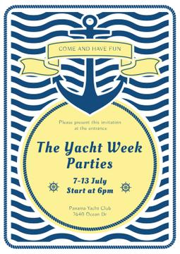 Yacht week parties announcement
