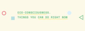 Eco-consciousness concept
