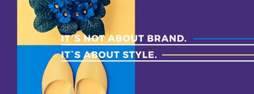 It's not about brand. It's about style inscription with female shoes