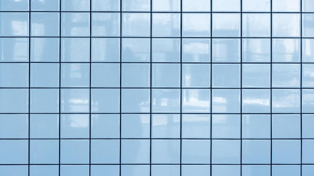 Light blue tile Wall Zoom Background – шаблон для дизайна
