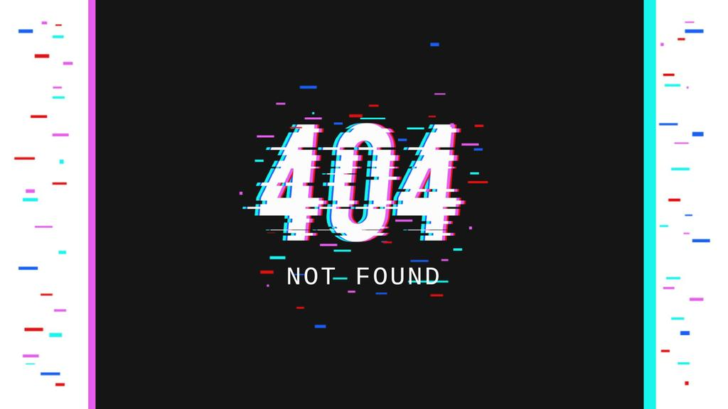 404 error message — Создать дизайн