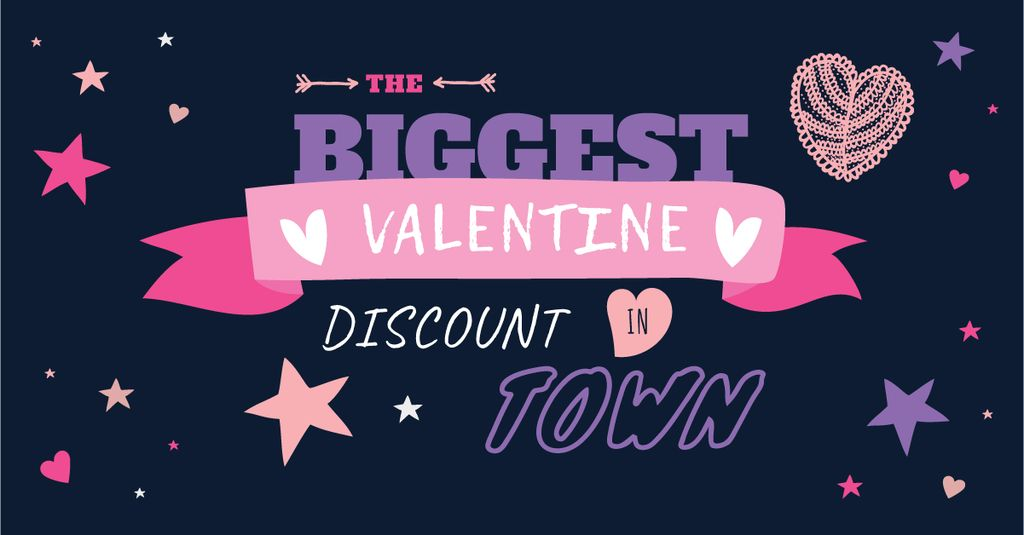 Valentine's day discount — Create a Design