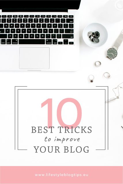 Blogging Tips Laptop on Working Table Tumblr Tasarım Şablonu