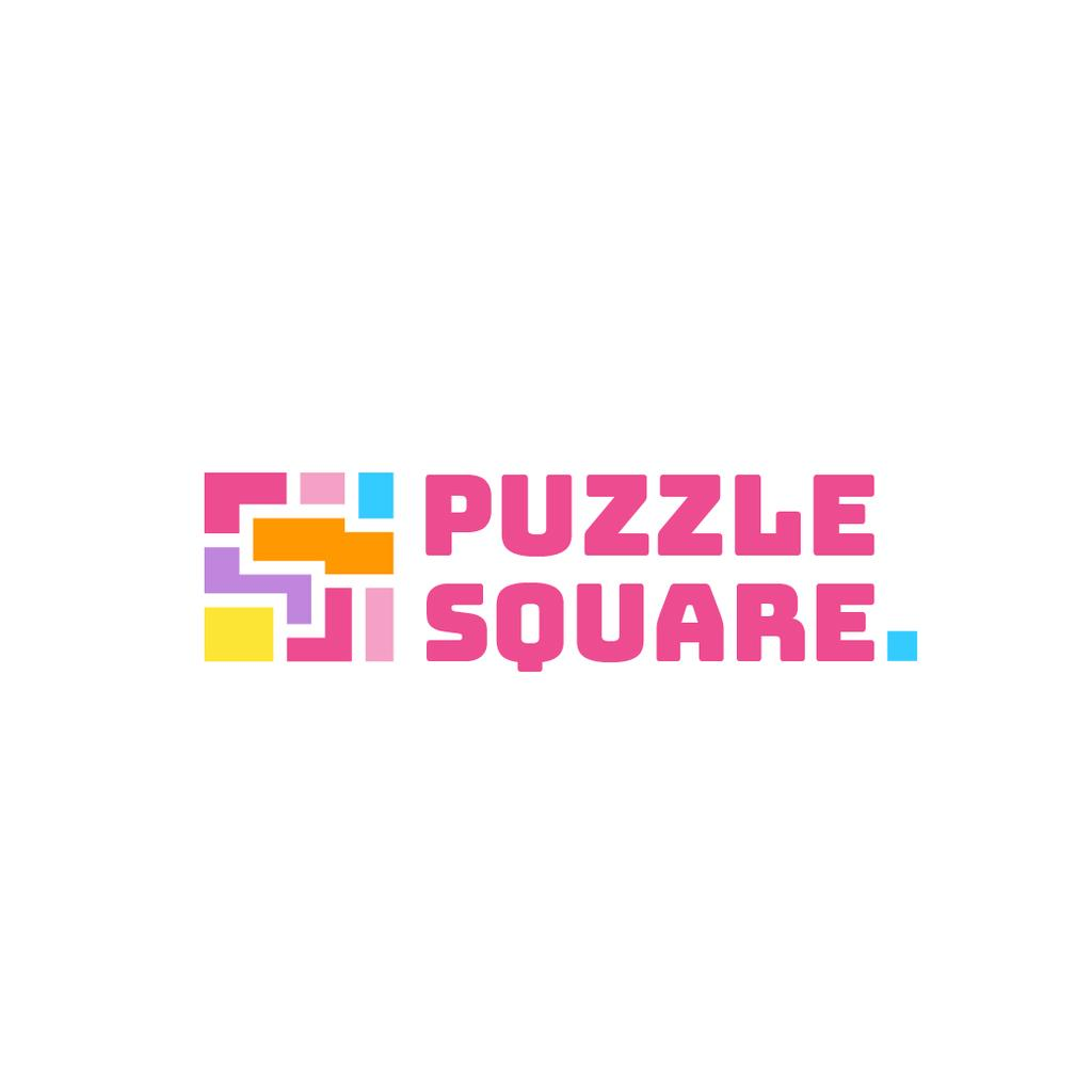 Puzzle Icon in Pink — Create a Design