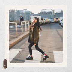 Stylish Girl posing on Street