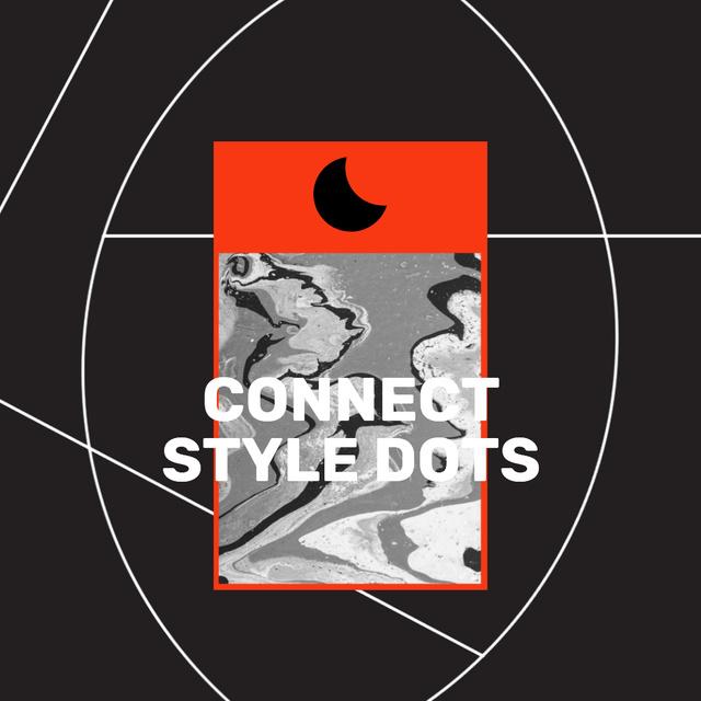Creative Style Inspiration on black background Animated Post Tasarım Şablonu